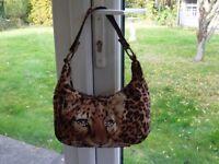 Ladies Leopard print bag