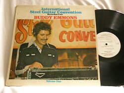 BUDDY EMMONS International Steel Guitar Convention 1977 Vol. 1 Buddy Spicher LP