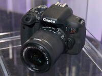 Canon - EOS 1000D (10.0MP) - Black (18-55mm Lens)