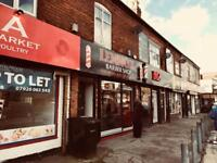 Shop to let- Commercial Property business- Suitable for any use - Fastfood Takeaway - Grocery- Meat