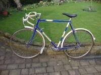 Claude Butler Olympic 5speed Fast Handbuilt Road Bike XL 62cm Solid Steel Frame Fast Maillard Wheels