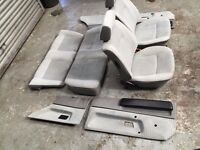 VW Polo mk2 hatchback breadvan grey interior set seats door cards