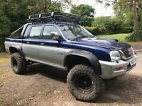 Mitsubishi l200 2.5td Monster Off road 4x4 Mot Tax