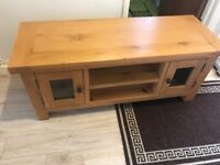 Solid pine tv/dvd cabinet