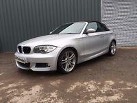 2009 BMW 1 SERIES M SPORT 120 DIESEL CONVERTIBLE not merc audi a3 a4 s class slk s line