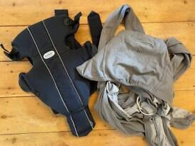 Baby carrier bundle - Baby Bjorn Original and Caboo