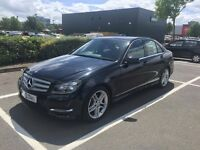 Mercedes-Benz C Class 2.1 C220 CDI BlueEFFICIENCY AMG Sport 4dr (Map Pilot)