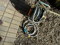 HOSELOCK GARDEN HOSE - Self contained through reel as new - bought last year only used twice