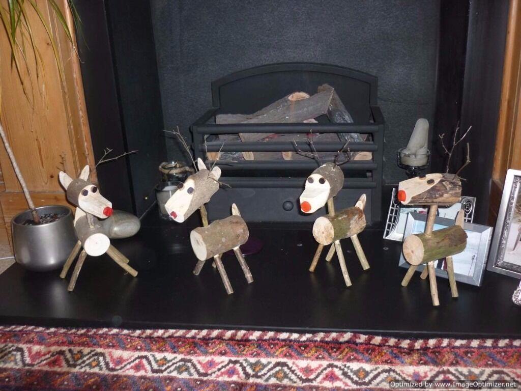 decerative christmas lo reindeer