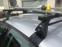Audi roof bars and 2 cycle carriers