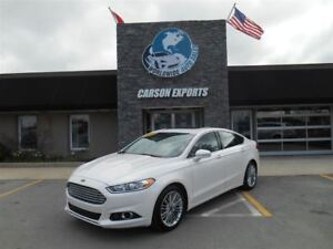 2013 Ford Fusion LOOK LEATHER AND SUNROOF! $93.00 BI-WEEKLY+TAX!