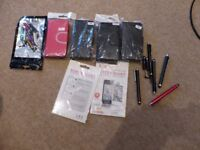 FREE - IPHONE 5C CASES, PENS AND SCREEN GUARDS