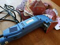 Electric Sander & large collection of discs