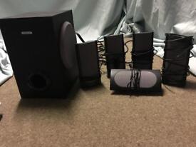 Creative labs 5.1 speaker system