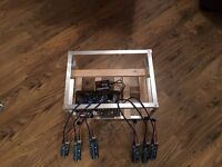 open air mining rig setup just add PSU and upto 6 gpus