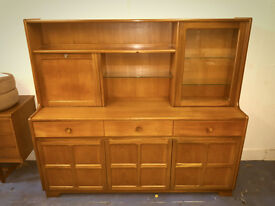 Mid Century Nathan Wall Cabinet