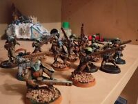 20 Tau Fire Warriors with Pulse Rifles