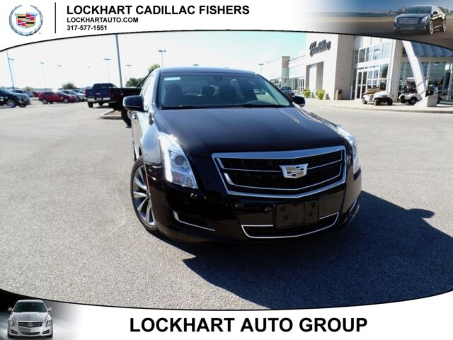 New 3.6L Leather Seating Surfaces Radio: AM/FM Cadillac CUE Infotainment System