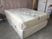 BRAND NEW DOUBLE 4FT6 SUPERIOR ORTHOPAEDIC MATTRESS - FREE SAME DAY LOCAL DELIVERY