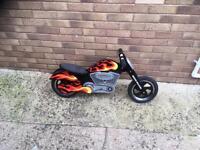 Kiddi moto balance bike chopper