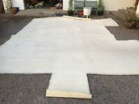 Carpet - cream approx 5 x 3.5m