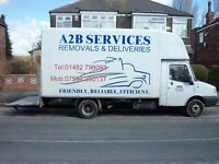 A2B SERVICES removals & deliveries 2 men from £15(pounds) (we cover 30 mile radius)