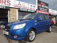 Chevrolet Aveo 1.4 LT 5dr 58000 miles bargain cheap family car BARGAIN