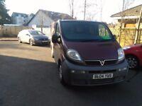 Vauxhall Vivaro cdti campervan