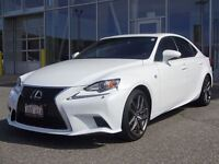 2014 Lexus IS 350 FSPORT EDITION!!! RARE FIND! LOW KMS.