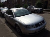 Audi A4 tdi 2002 year spare parts availble bumper bonnet wing light alloy wheels
