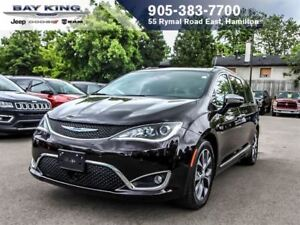 2017 Chrysler Pacifica LIMITED, DVD, 360 CAM, BACKUP CAM, SUNROO