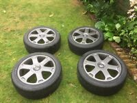 "Audi S3 8L Genuine Ronal 17"" Alloys+Tyres Mint Condition"
