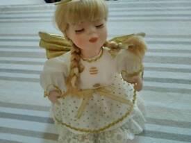 Porceline angel doll