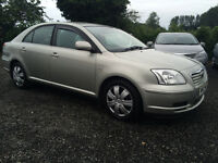 2004 TOYOTA AVENSIS FULL YEARS MOT IN BEAUTIFUL CONDITION DEBIT AND CREDIT CARDS ACCEPTED