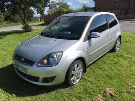 2007 Very Low Milage Ford Fiesta Zetec 1.4 petrol excellent condition