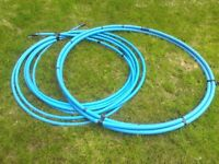 Blue MDPE Pipes