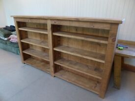 Indigo Furniture Wooden Bookshelf, Condition= Like NEW