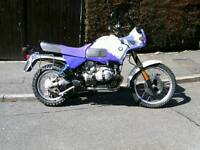 BMW R100GS PD 1993 FOR SALE / PART EXCHANGE HARLEY DAVIDSON / TRIUMPH T140 OR SIMILAR BRITISH BIKE