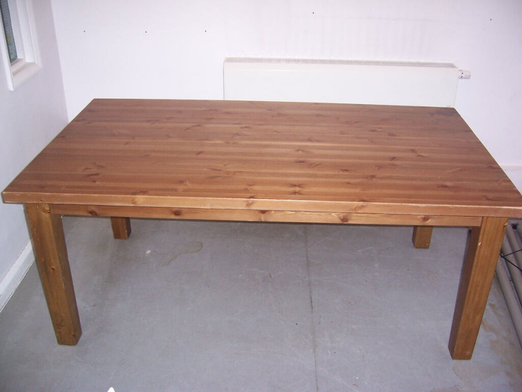 Ikea Forsby Solid Pine Dining Office Table Size H 75cm