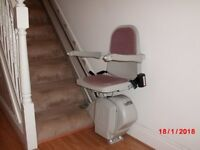 Acorn Superglide 120 stairlift to fit standard straight 13 riser stair