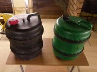 2 Water Barrels