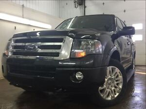 2014 Ford Expedition LIMITED-REARCAM, MOONROOF, PWR RUNNING BOAR