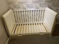 Obaby Stamford cot bed (white)
