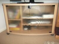 next tv cabnet hi fi cabnet and coffee table ex cond
