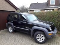 Jeep Cherokee 2.4 petrol sport - for spares or repair