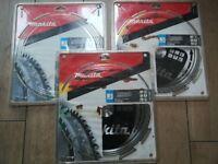 3 x Makita Specialized Metal Cutting Blade 305 x 25.4mm. B09765.