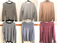 Mens Jumpers JobLot (sizes M&L)