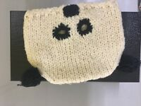 Panda cap for women