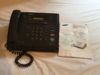 Samsung Fax Machine SF100 instruction booklet included