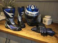 Motor bike gear
